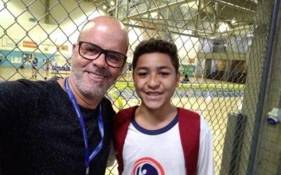 Aluno da Fundação passa em teste de futsal no Minas Tênis Clube