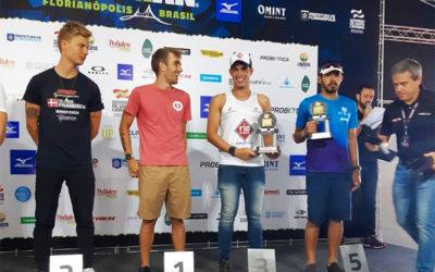 Jhonathan fica em terceiro lugar no maior circuito de Triathlon do mundo