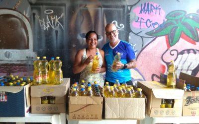 Fundação realiza doação de óleos a instituição