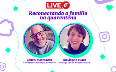 Live para família com o Ernani Montandom e Luciângela Cunha