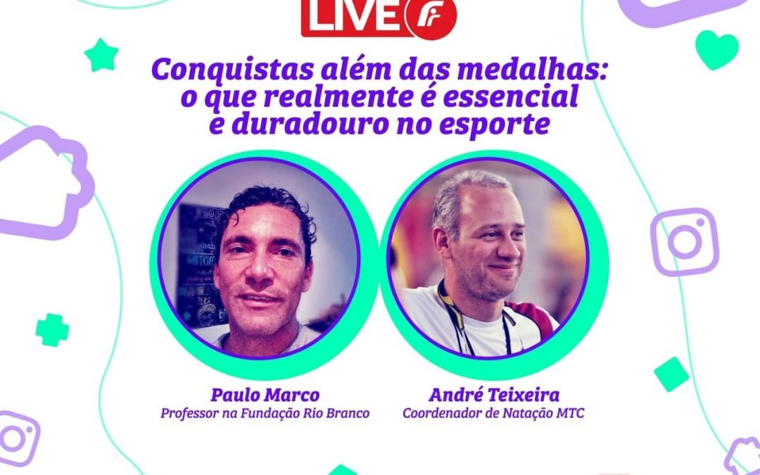 Live para família com Paulo Marco e André Teixeira