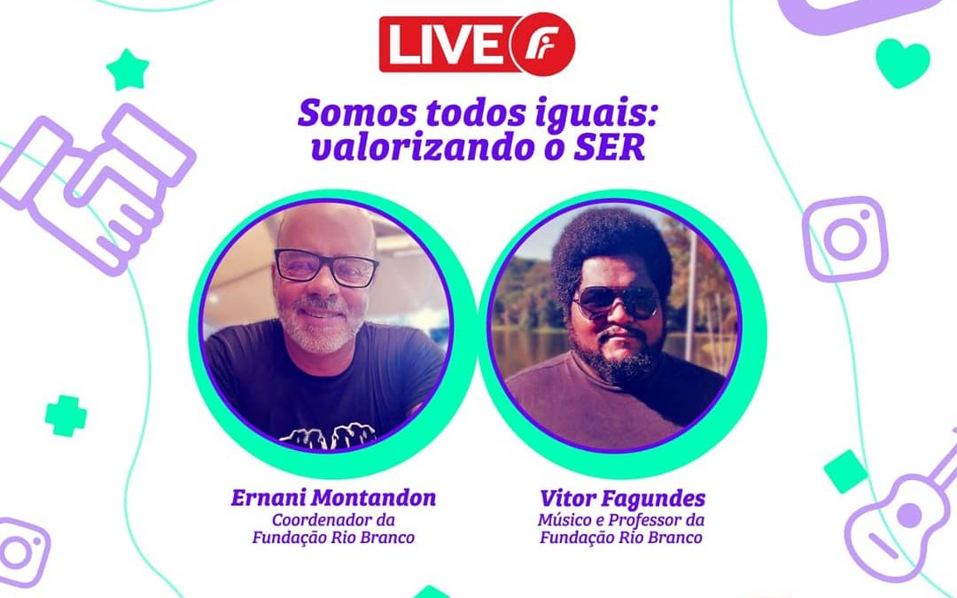 Live para família com Ernani Montandom e Vitor Fagundes